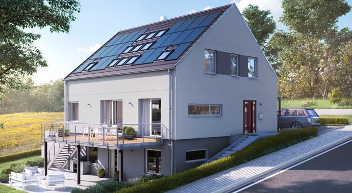 SchwörerHaus Healthy Home Haus Weimper Außenansicht