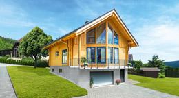 Außenansicht Blockhaus Adria von LéonWood