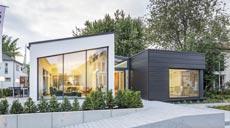 Luxhaus Musterhaus Energie-Plus-Haus open