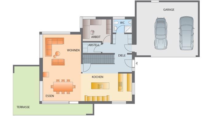 Kitzlingerhaus kundenhaus dornhan hurra wir bauen for Architektenhaus grundriss