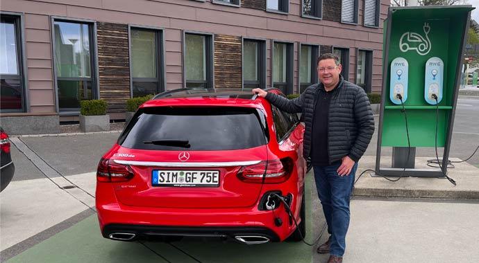 Elektromobilität bei Glatthaar Keller