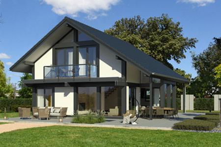 Aktionshaus Modernes Fachwerkhaus von Meisterstück-Haus