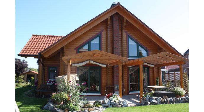 Haus Gärtner von Nordic-Haus Blockhäuser.
