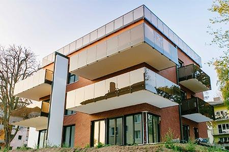 Außenansicht Mehrfamilienhaus von Massivhaus Rhein Lahn