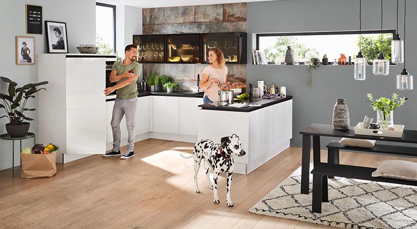 Küchenplanung Familienküche Nolte