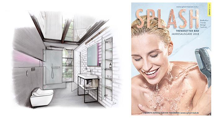 Die Badideen 2018 des Magazins SPLASH