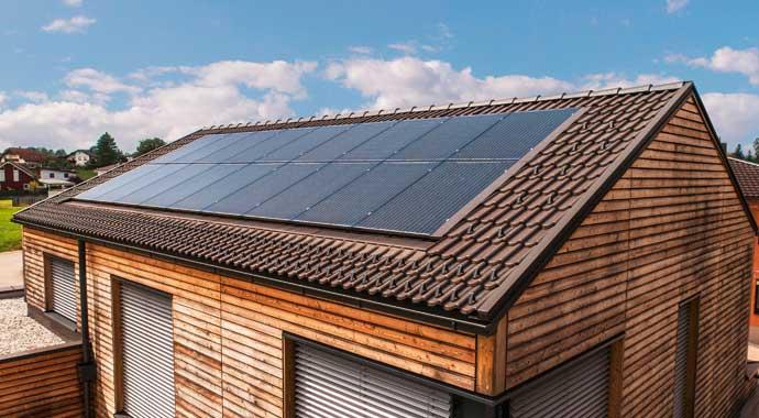 Photovoltaik-Anlage von Fronius