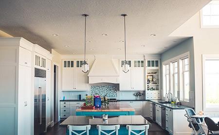 Indirekte Beleuchtung für die Küche