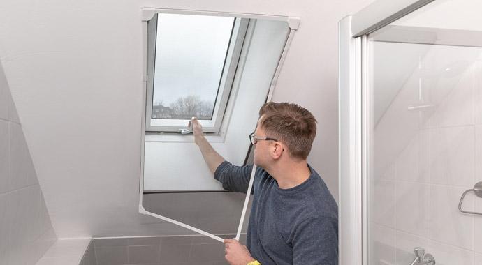 Insektenschutz für Dachfenster von Schellenberg