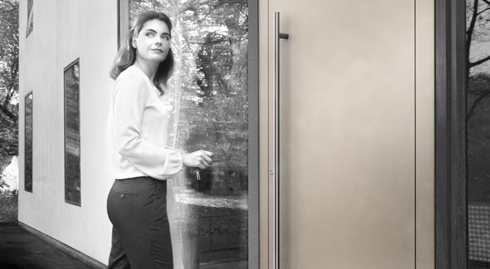 Aluminium-Haustür Sedor von Weru