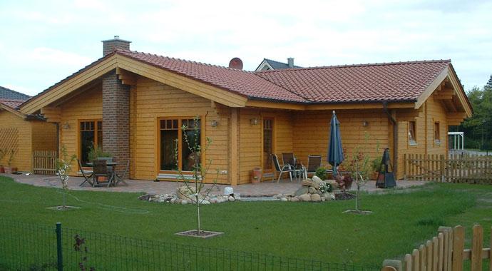 Haus Ostermann von Nordic-Haus Blockhäuser.