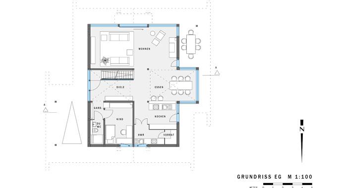 huf haus musterhaus art 3. Black Bedroom Furniture Sets. Home Design Ideas