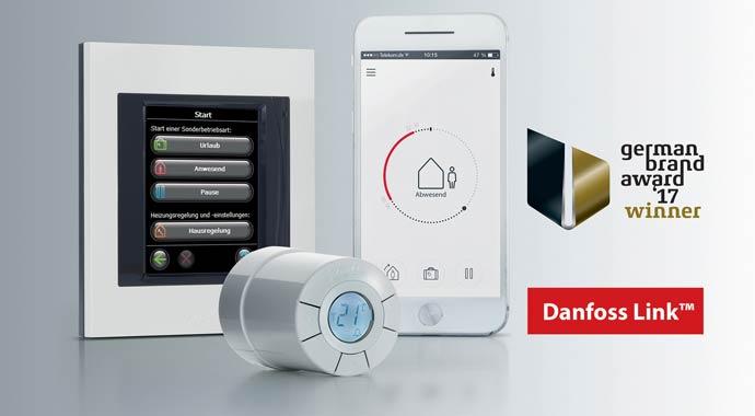 Einzelraumtemperaturregler Danfoss Link