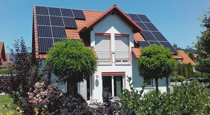 Symbolbild Photovoltaik-Anlage