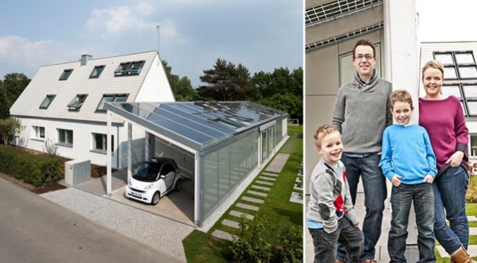 Velux LichtAktivHaus Wohnexperiment Model Home 2020 Nullenergiehaus
