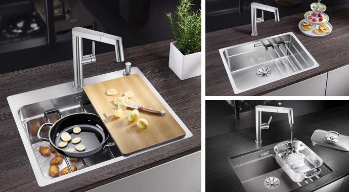 Küchenspüle Blanco Etagon