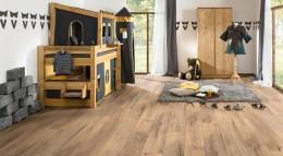 Die Laminatböden von LOGOCLIC bestehen vorwiegend aus Holz heimischer und nachhaltig bewirtschafteter Wälder.