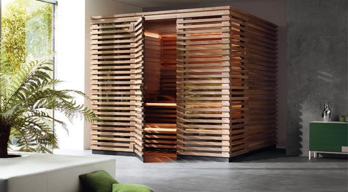 Sauna von Klafs