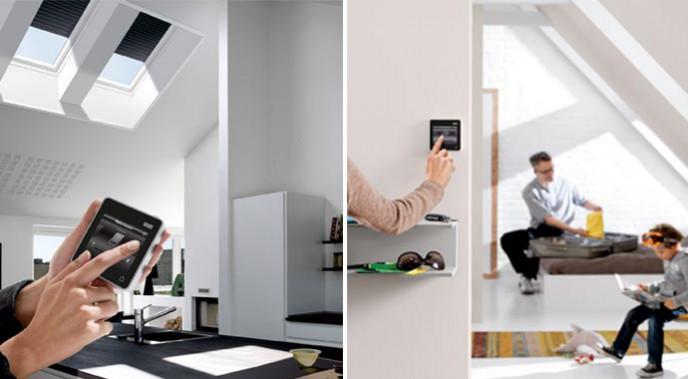 Automatische Velux Sonnenschutzprodukte Und Rollläden Simulieren Die  Anwesenheit Der Bewohner Und Können Einbrecher Dadurch Abschrecken.