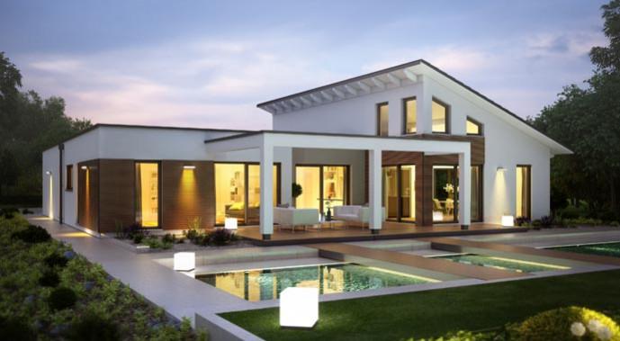 energieeffizienz bauen mit einem kfw effizienzhaus 40. Black Bedroom Furniture Sets. Home Design Ideas