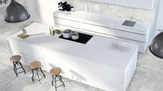 Großformatige Fliesen Neo Vario Bianco von Classen