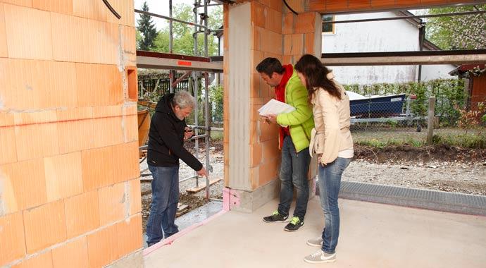 Baustellenbesichtigung mit VPB-Bauherrenberater