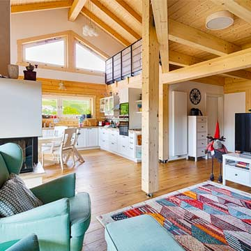 Blockhaus ADRIA 140 von LéonWood