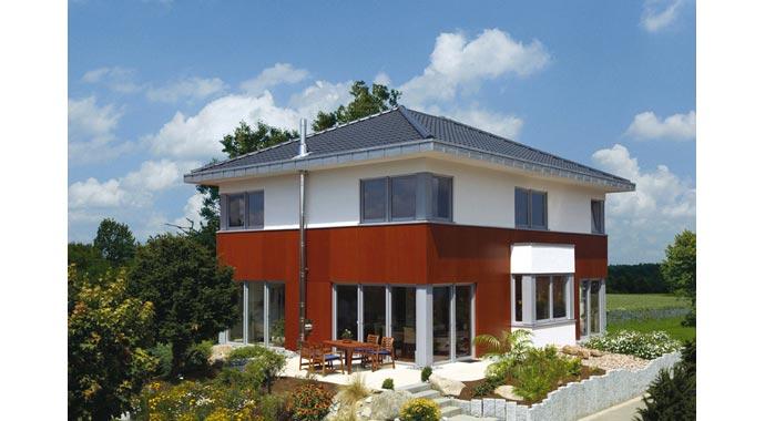 hanse haus musterhaus villa 189. Black Bedroom Furniture Sets. Home Design Ideas