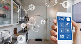 Smart-Home-System in der Küche