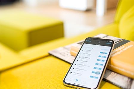 Smartphone-App von eNet
