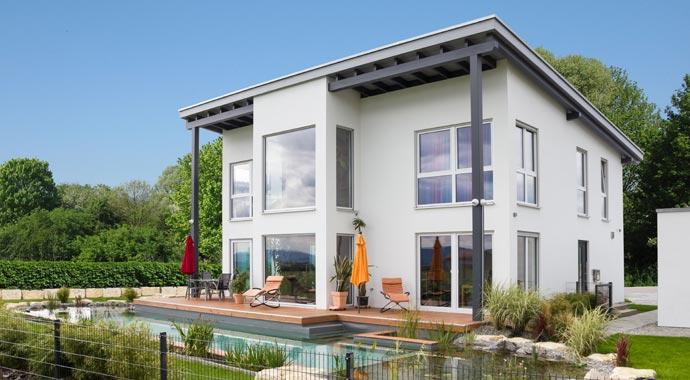 lehner haus baut moderne fertigh user in holzbauweise. Black Bedroom Furniture Sets. Home Design Ideas