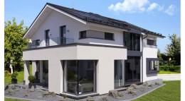 Bien-Zenker Musterhaus Evolution Stuttgart Außenansicht