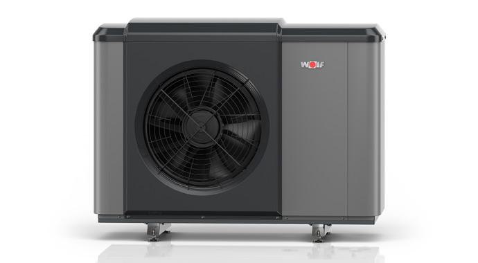 Luft-Wasser-Wärmepumpe CHA Monoblock von Wolf