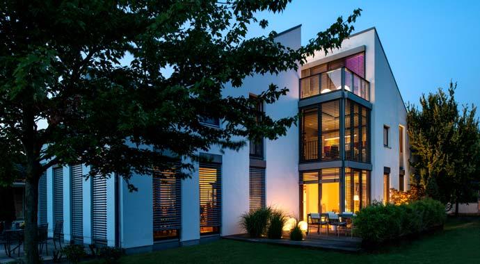 Außenansicht Doppelhaushälfte