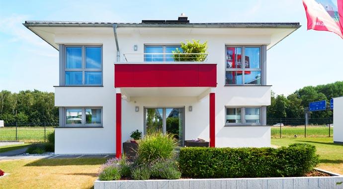 Fingerhut Haus Musterhaus Köln Außenansicht