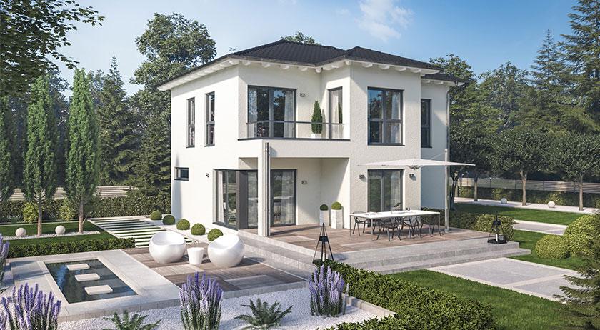 Schwabenhaus Solitaire-E-125 Entwurf 8 Außenansicht