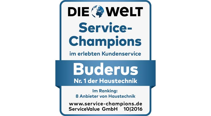 Service-Champion Buderus