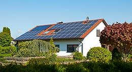 Einfamilienhaus mit Photovoltaik-Anlage