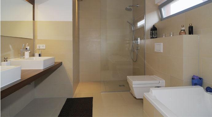 Badezimmer, Ytong Haus, Individuelle Planung