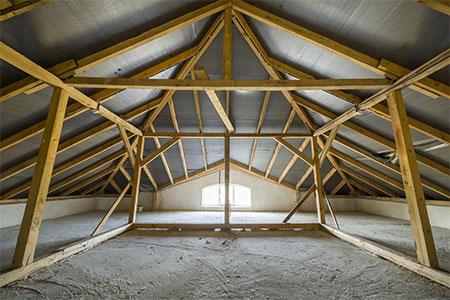 Symbolbild Dachstuhl