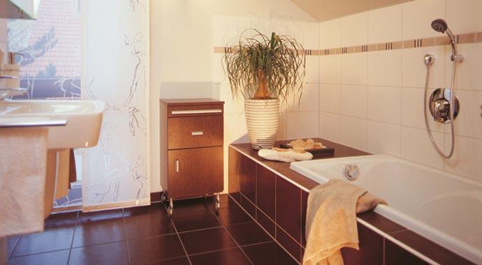Fingerhaus badezimmer  FingerHaus: Musterhaus Fino 300 A