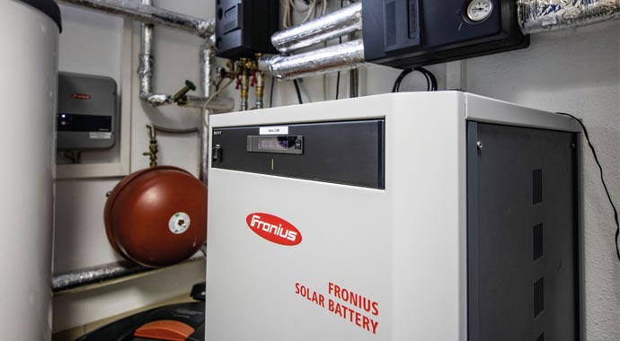 Fronius Ohmpilot, Solar Battery und eCharge Wallbox