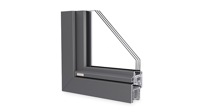 Fenstersystem CASTELLO-plus von Weru
