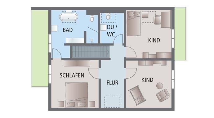 Fingerhaus neo grundriss  FingerHaus: Musterhaus Bad Vilbel Neo 312