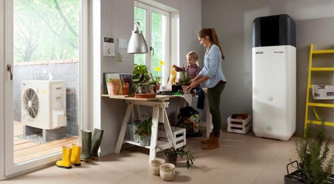 mit einer w rmepumpe preiswert klimafreundlich heizen. Black Bedroom Furniture Sets. Home Design Ideas