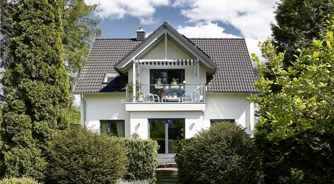 Außenansicht Haus Savona von Gussek Haus
