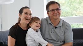 Familienportrait Gickeleiter