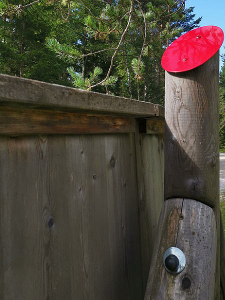 Schutz auf Holz