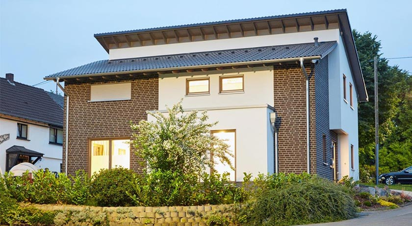 Gussek Haus Kundenhaus Finkenberg Außenansicht