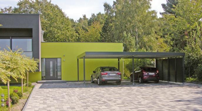 carport planen und bauen das gilt es f r sie zu beachten. Black Bedroom Furniture Sets. Home Design Ideas